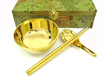 golden chop sticks