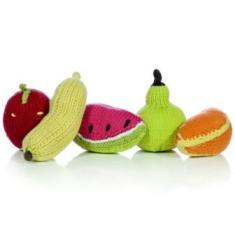 knitted fruit fairly organic