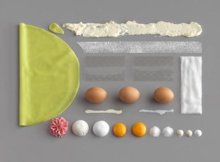 deconstructed princess cake